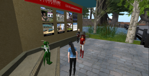 Visiting CSU in Second Life